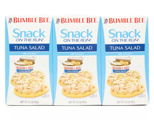 Bumble Bee Snack On The Run! 9 X 3.5oz Packs