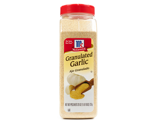 Mccormick Granulated Garlic, 26oz