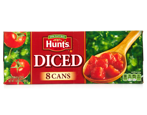 Hunts Diced Tomatoes, 8ct