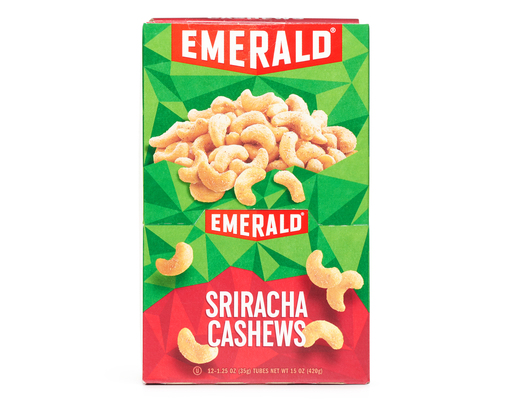 Emerald Sriracha Cashews, 12ct