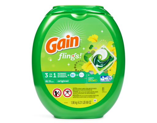 Gain Flings, 81ct