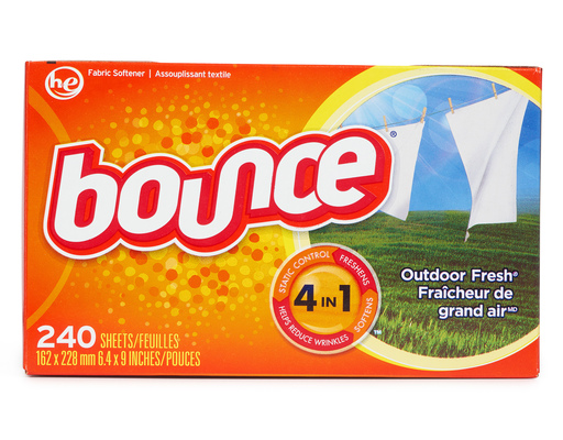 Bounce Dryer Sheets, 240 Ct, Outdoor Fresh