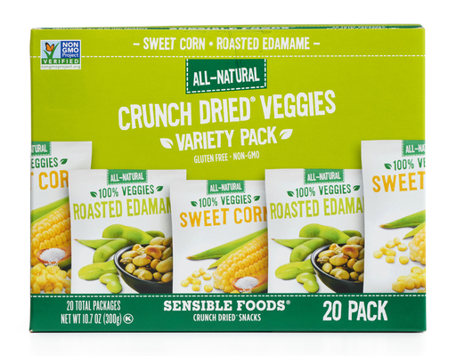 Sensible Foods Crunch Dried Veggies, 20ct