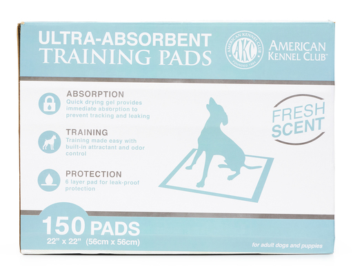 Akc Training Pads, 150ct