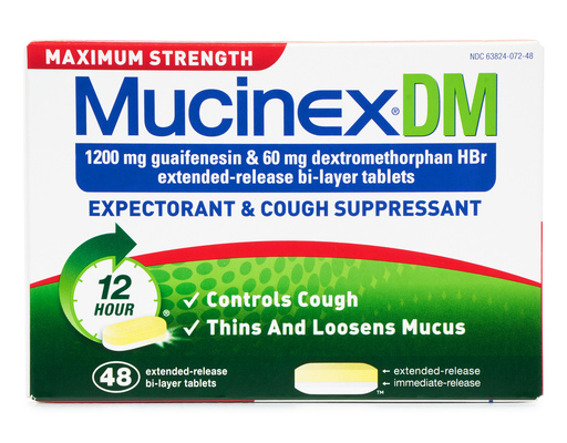 Mucinex Dm Expectorant & Cough Med., 48ct