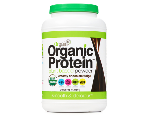 Orgain Organic Protein Powder, 2.74ct