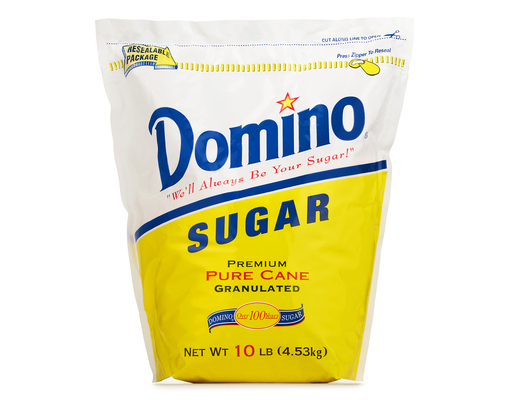 Domino Pure Cane Sugar, 10lbs