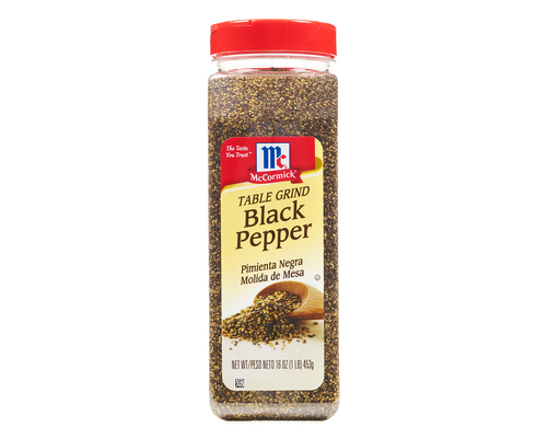 Mccormick Table Grind Black Pepper, 16oz