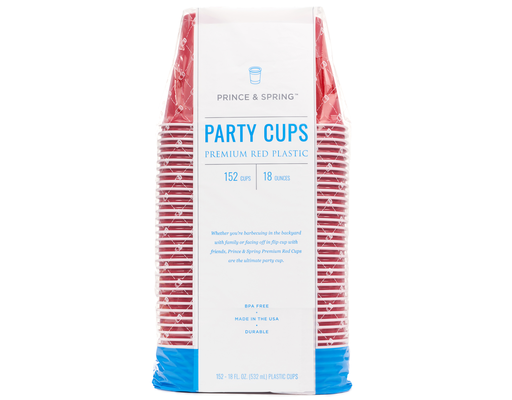Party Cups, 152ct By Prince & Spring