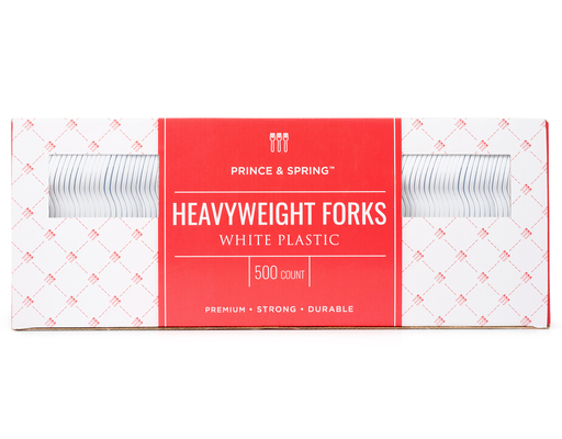 Heavyweight Forks, 500ct By Prince & Spring