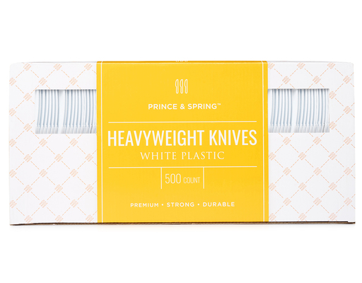 Heavyweight Knives, 500ct By Prince & Spring