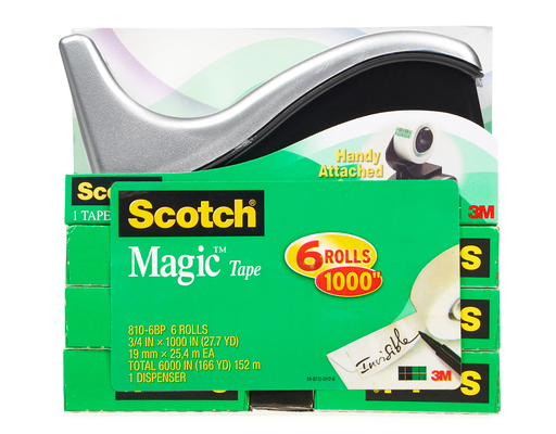 Scotch Magic Tape, 6ct