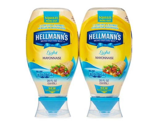 Hellmanns Light Mayonnaise, 40oz