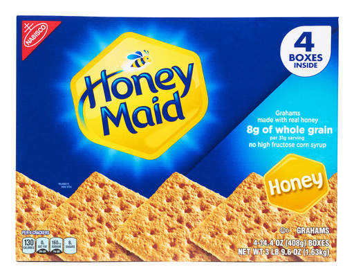 Honey Maid Honey Grahams, 57.6oz