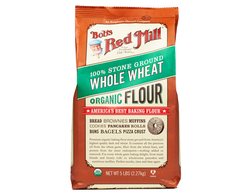 Bobs Red Mill Whole Wheat Flour, 5ct