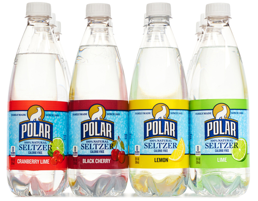 Polar 100% Natural Seltzer, 12ct