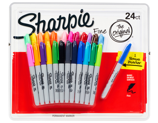 Sharpie Permanent Markers, 24ct