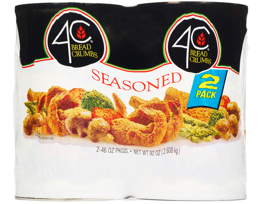 4c Seasoned Bread Crumbs, 92oz
