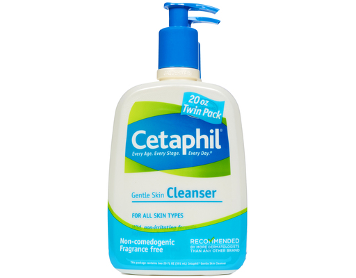 Cetaphil Gentle Skin Cleanser, 2 X 20oz Bottles, 40oz