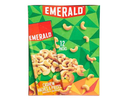 Emerald Cashews Roasted & Salted, 12ct