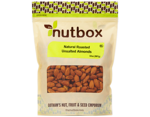 The Nutbox Natural Roasted Almonds, 32oz