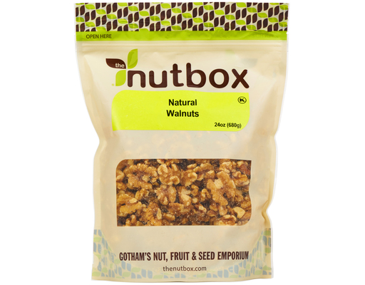 The Nutbox Natural Walnuts, 24oz