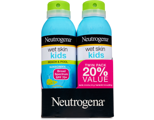 Neutrogena Wet Skin Kids Sunscreen, 10oz