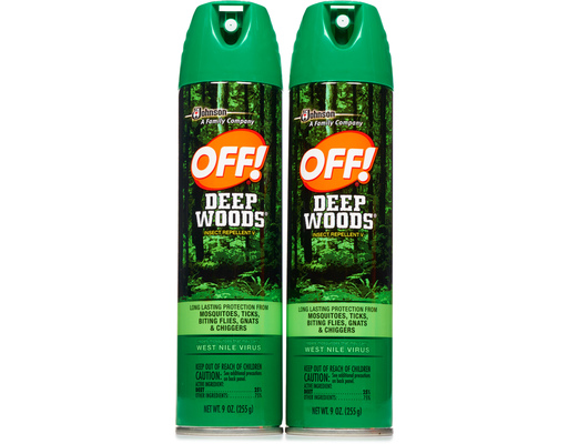 Off! Deep Woods Insect Repellent, 2 X 9oz Bottles, 18oz