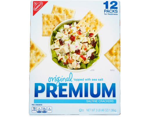 Nabisco Premium Saltine Crackers, 48oz