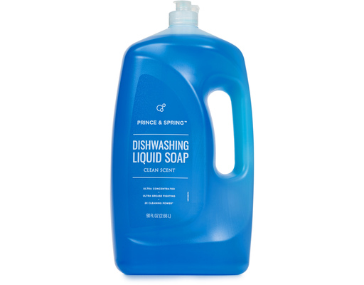 Dishwashing Soap, 90oz By Prince & Spring