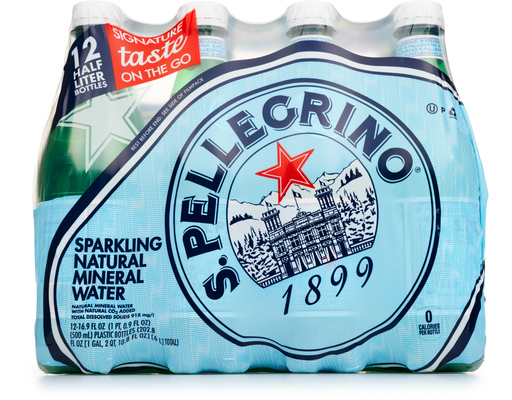 S.pellegrino Sparkling Mineral Water, 12ct
