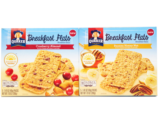 Quaker Breakfast Flats, 20ct