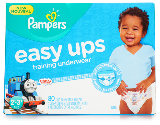 Pampers Easy Up Training Pants, 80ct