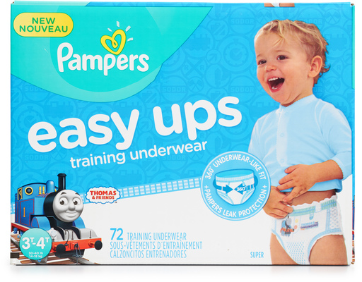 Pampers Easy Up Training Pants, 72ct