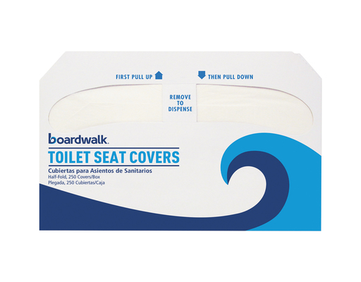 [d] Boardwalk Half-fold Toilet Seat Covers