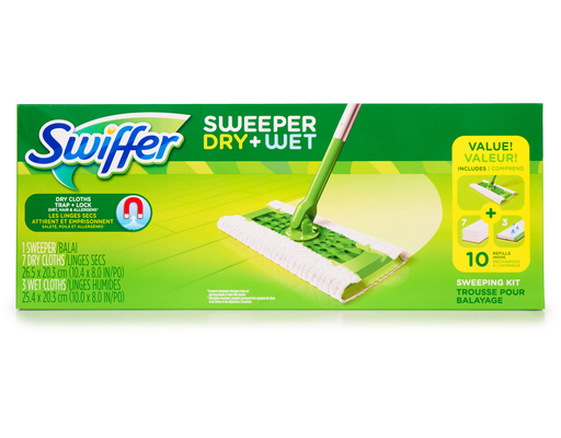 Swiffer Sweeper Dry + Wet Kit
