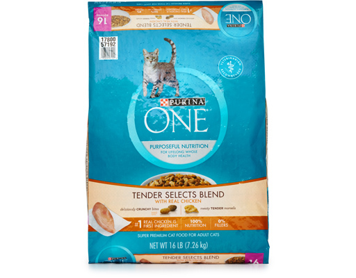 Purina One Tender Selects Cat Food, 16ct