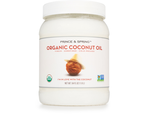 Organic Coconut Oil, 54oz By Prince & Spring
