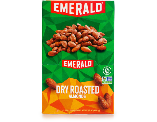 Emerald Dry Roasted Almonds, 12ct