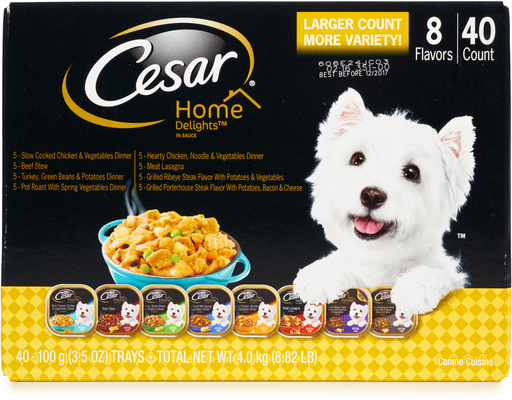 Cesar Home Delights, 40ct