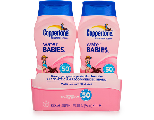 Coppertone Sunscreen Water Babies