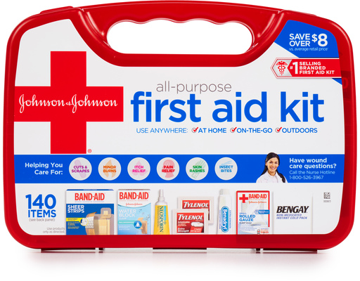 First Aid Kit, 140ct