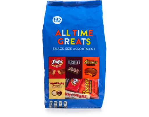 Hersheys All Time Greats, 105ct