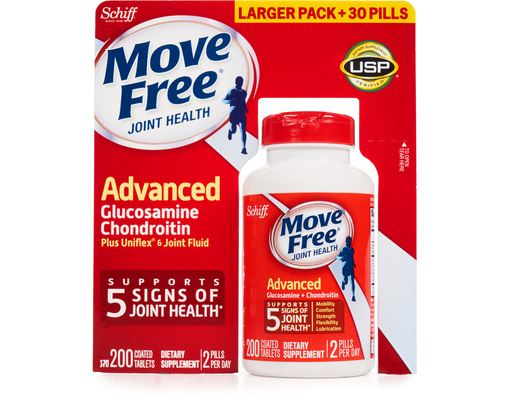 Schiff Move Free Joint Health, 200 Tablets