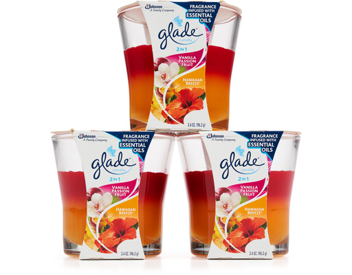Glade 2in1 Candle Variety Pack