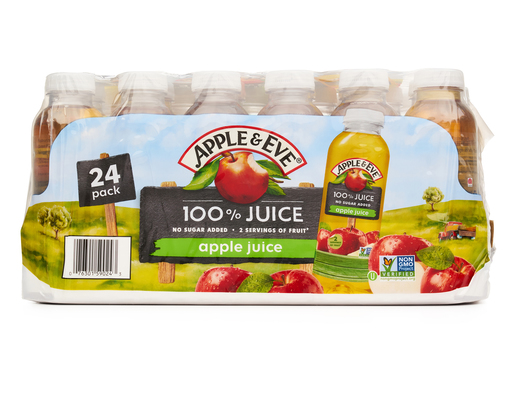 Apple & Eve Apple Juice, 24ct