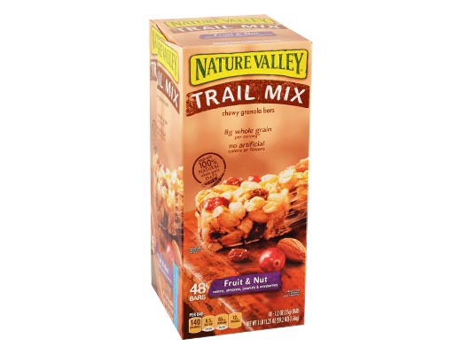 Boxed.com : Nature Valley Trail Mix Chewy Bars 48 Bars - Fruit & Nut