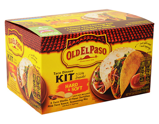 old el paso soft taco kit instructions