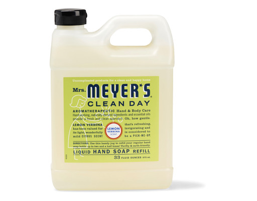 Mrs Meyer S Liquid Hand Soap Refill 33 Oz Lemon