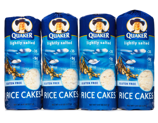 Quaker Rice Cakes 4 Count - Lightly Salted | Boxed Quaker Rice Cakes Lightly Salted